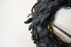 Black Dove (detail)